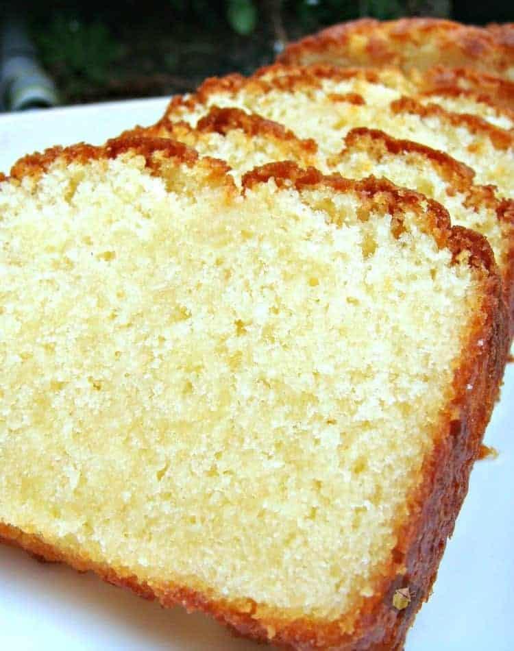 Vanilla Pound Cake Recipe  Moist Vanilla Pound Loaf Cake – Lovefoo s