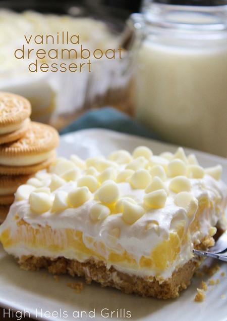 Vanilla Pudding Dessert  Vanilla Dreamboat Dessert