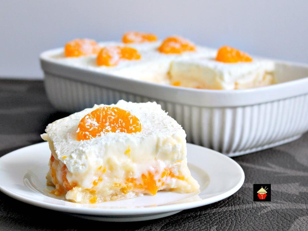 Vanilla Pudding Desserts  Easy Mandarin Dessert – Lovefoo s