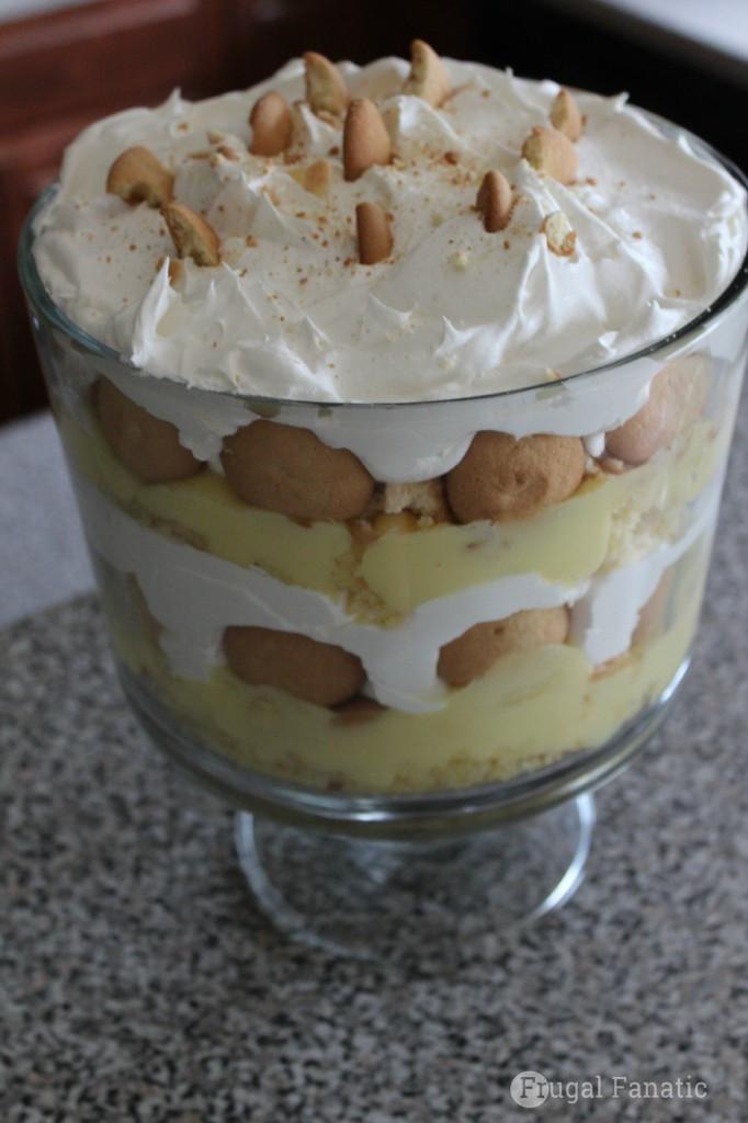 Vanilla Wafer Dessert  banana pudding with bananas and vanilla wafers