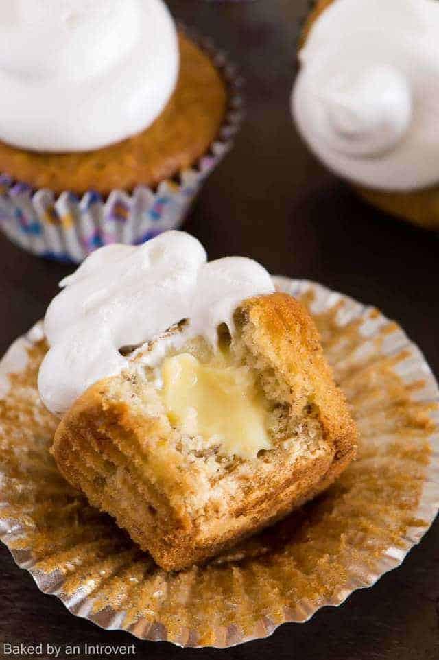 Vanilla Wafer Dessert  Banana Pudding Cupcakes