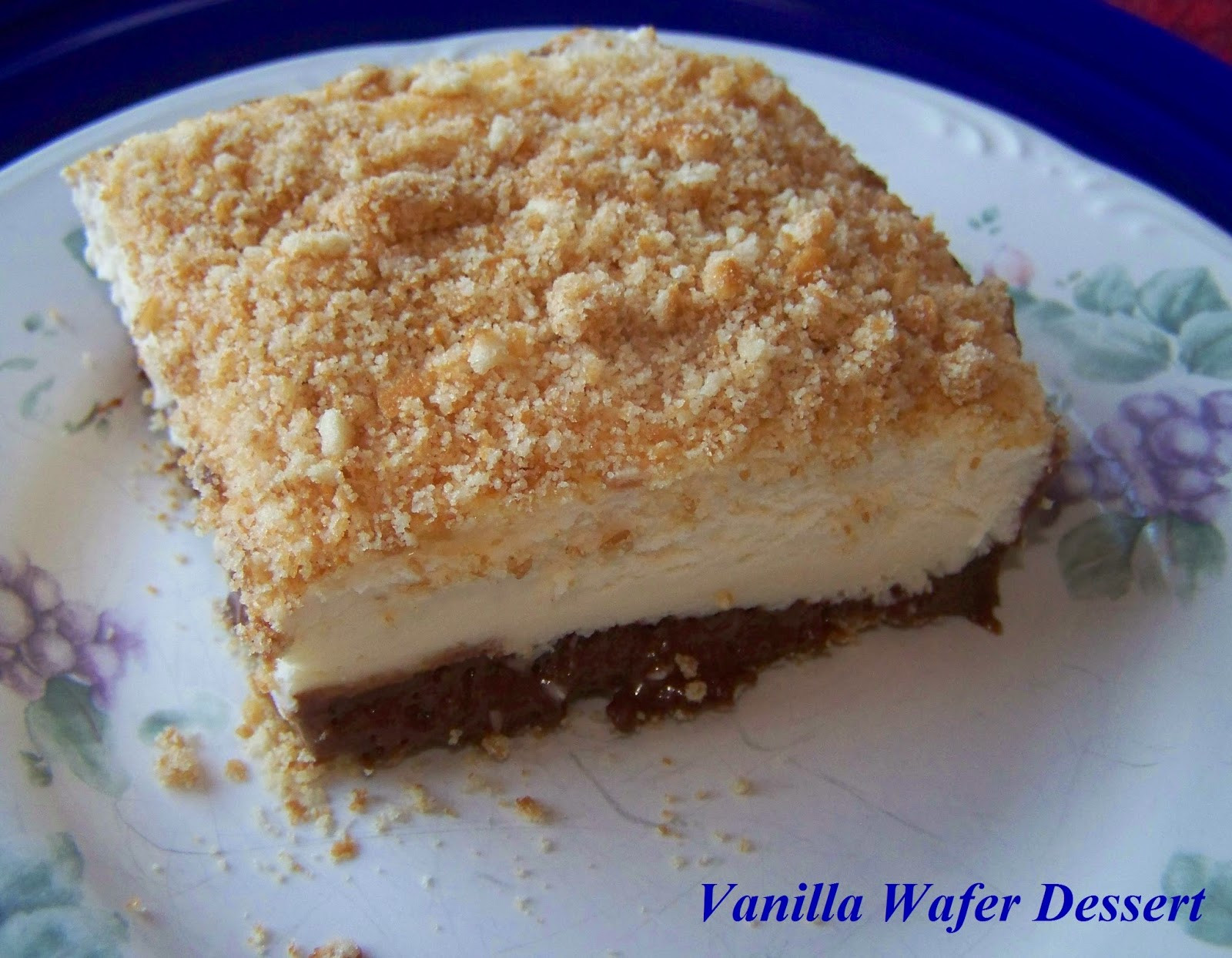 Vanilla Wafer Dessert  2 Kids and Tired Cooks February 2015