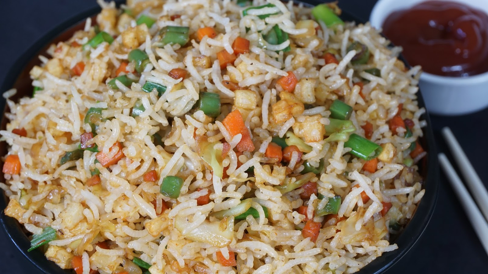 Veg Fried Rice  Ve able Fried Rice
