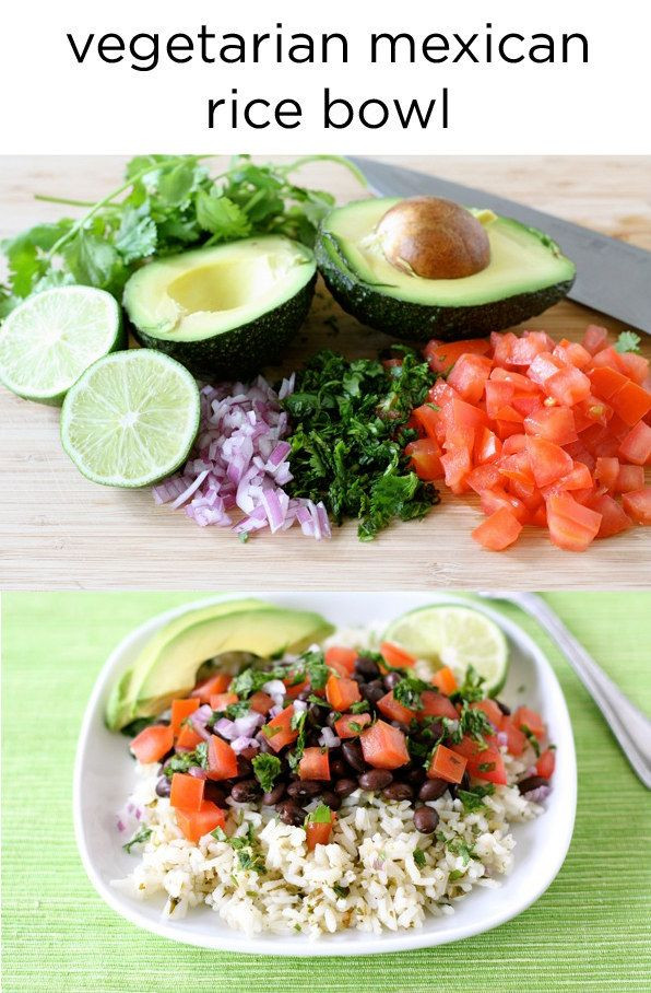 Veg Mexican Rice  1000 ideas about Mexican Rice Bowls on Pinterest