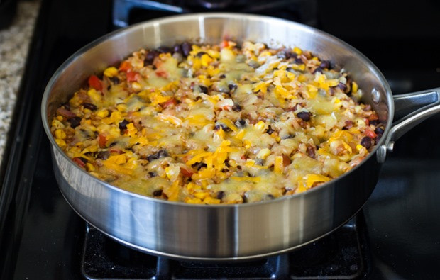 Veg Mexican Rice  e Skillet Mexican Rice Casserole Making Thyme for Health