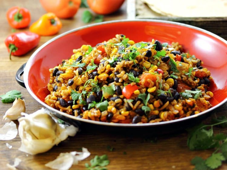 Veg Mexican Rice  Mexican Fried Brown Rice