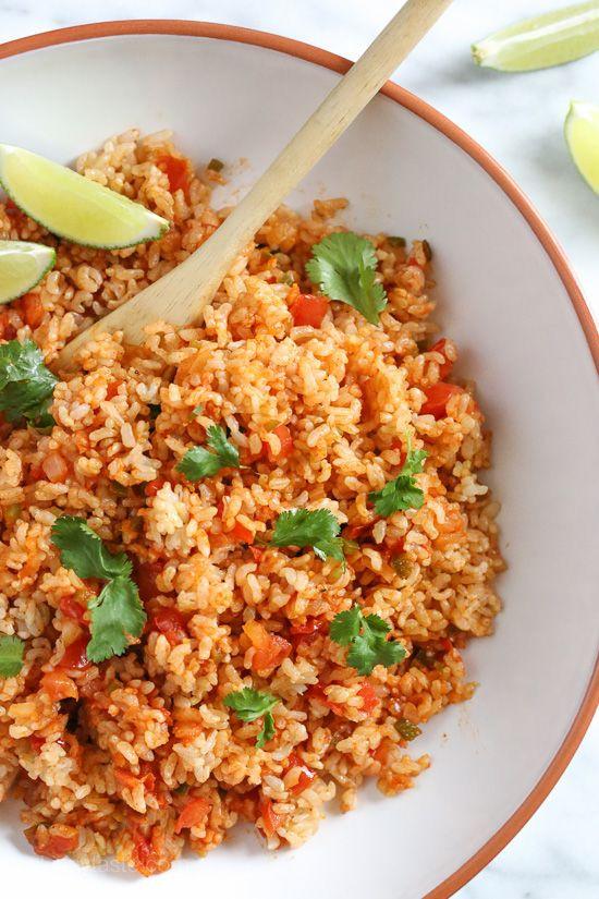 Veg Mexican Rice  As 25 melhores ideias de Ve arian mexican rice no