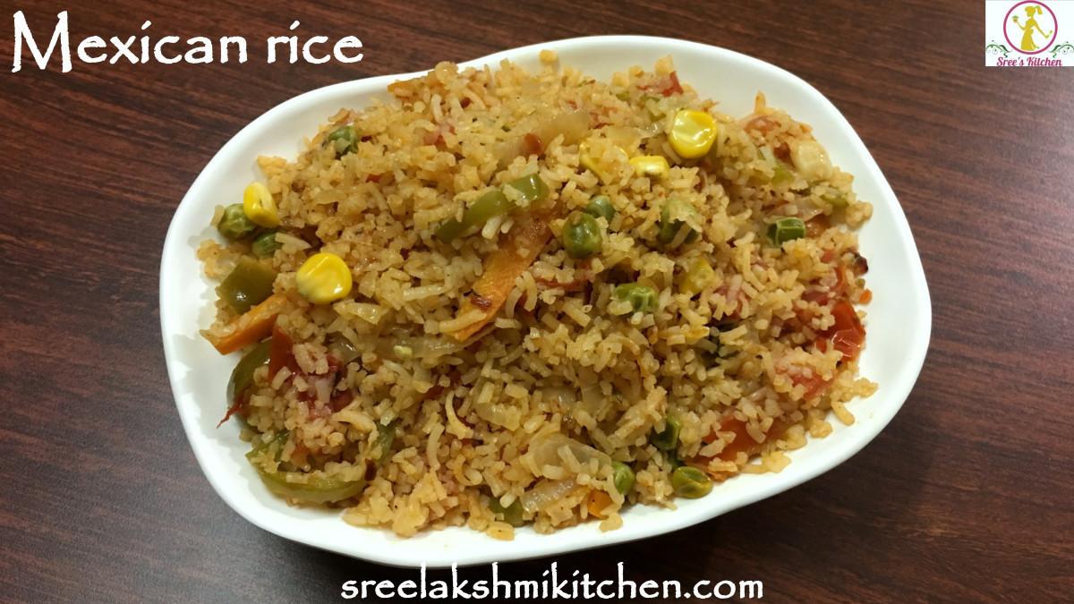Veg Mexican Rice  Mexican rice veg