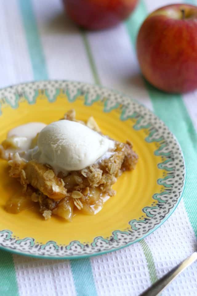 Vegan Apple Dessert  Gluten free and vegan apple crisp recipe