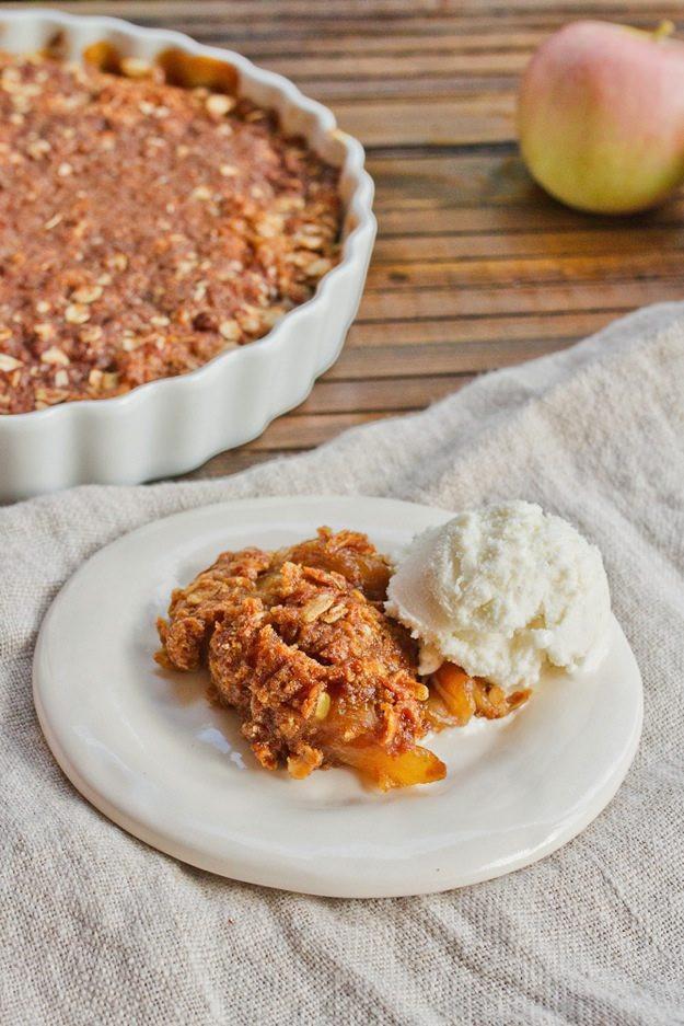 Vegan Apple Dessert  Vegan Gluten Free Apple Crisp Eating Bird Food