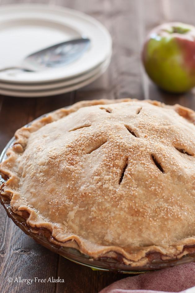 Vegan Apple Pie  Mom s Amazing Gluten Free & Vegan Apple Pie