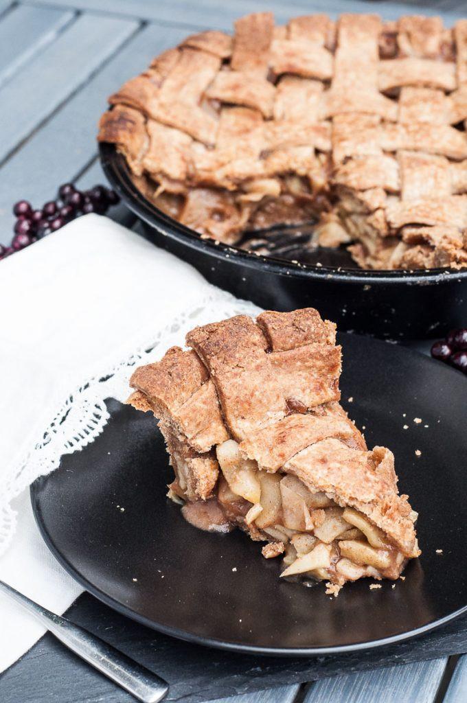 Vegan Apple Pie  Vegan Whole Wheat Apple Pie Vegan Family Recipes