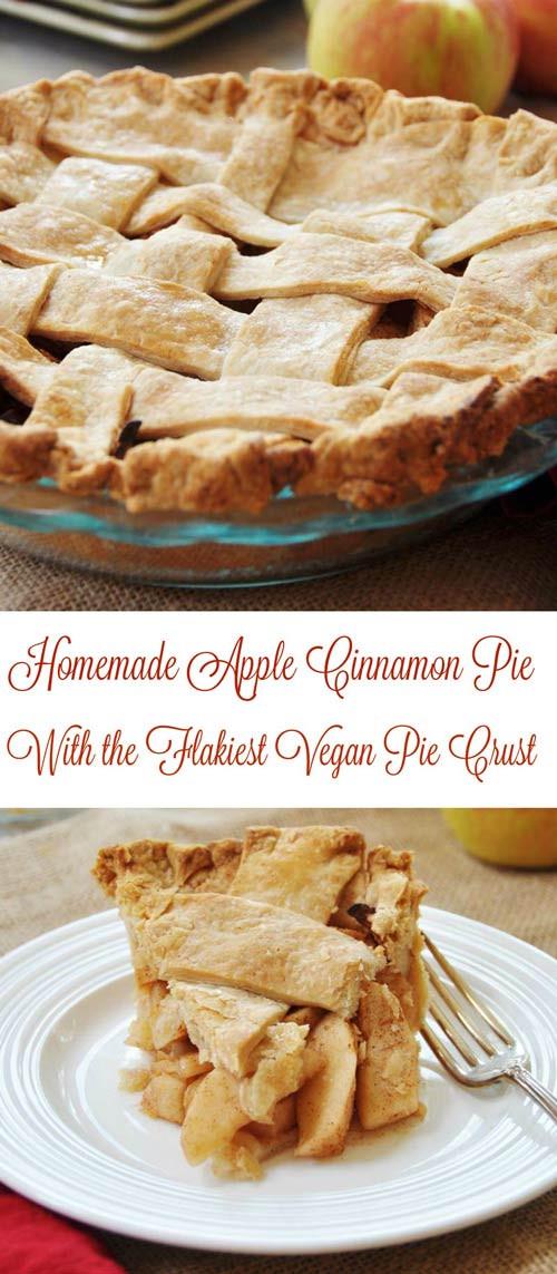 Vegan Apple Pie Recipe  vegan apple pie crust