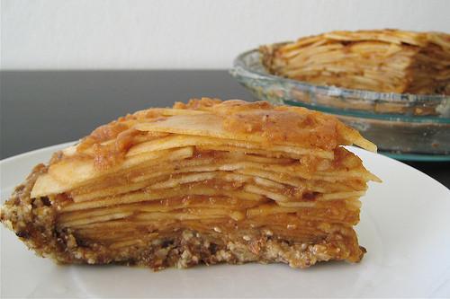 Vegan Apple Pie Recipe  PKD Recipes Apple Pie Raw Vegan