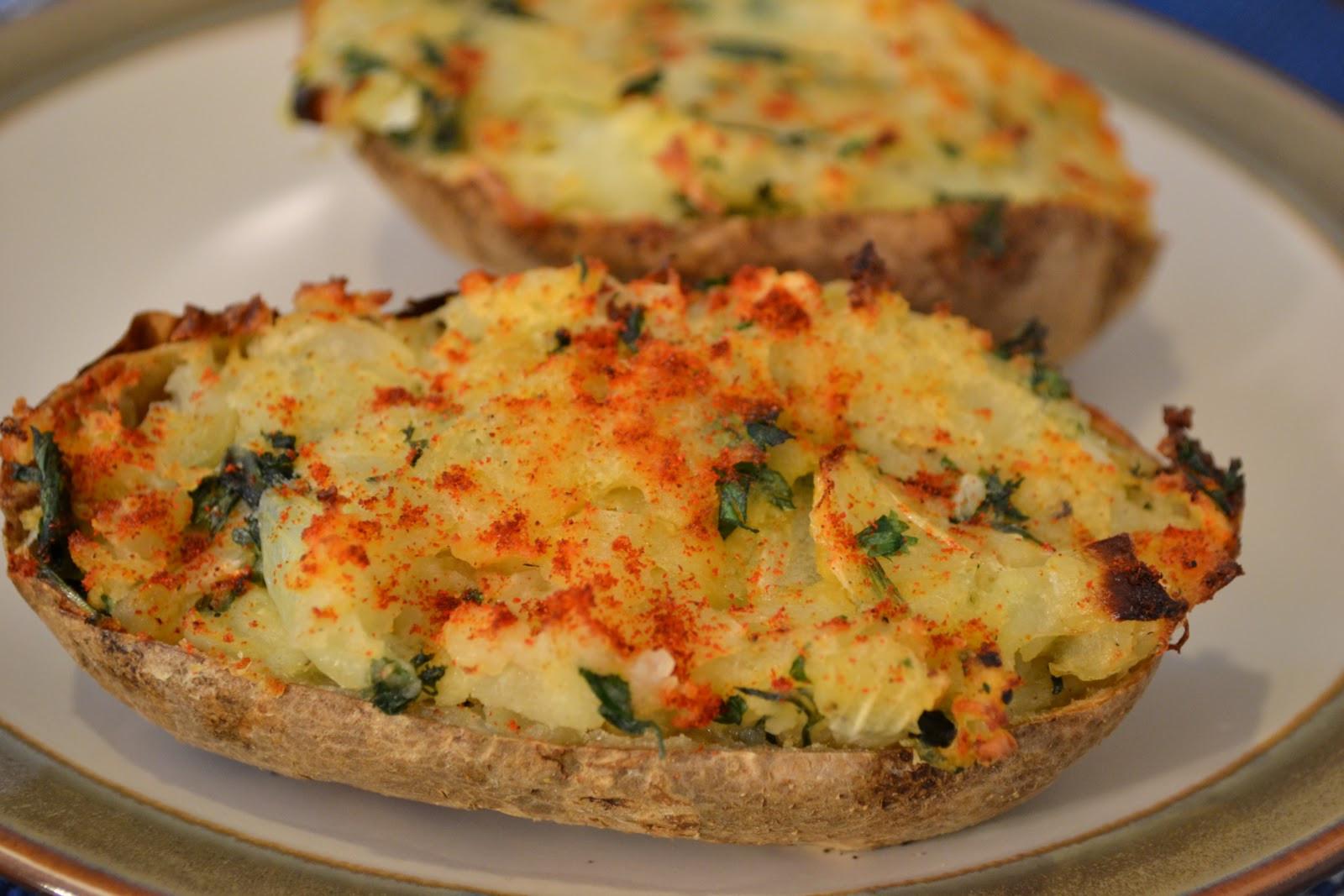 Vegan Baked Potato  Veggies For Real Vegan Twice Baked Potatoes