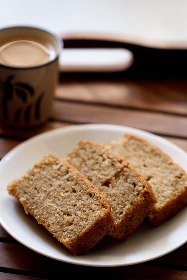 Vegan Banana Bread  banana bread recipe how to make eggless banana bread recipe