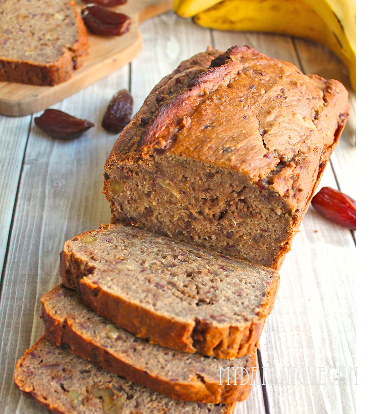 Vegan Banana Bread  Healthy Vegan Banana Bread