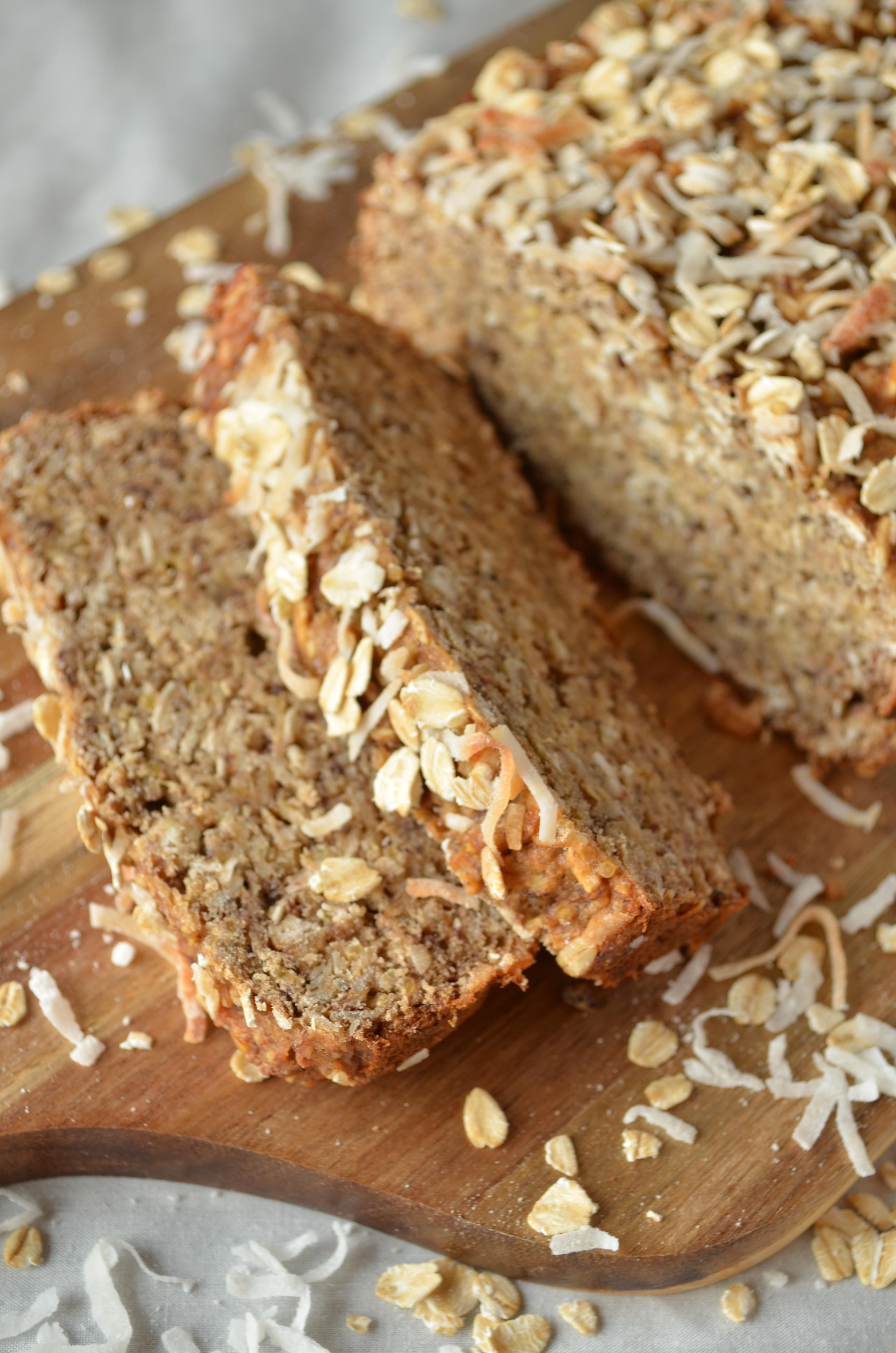 Vegan Banana Bread  Coconut Quinoa Banana Bread Vegan