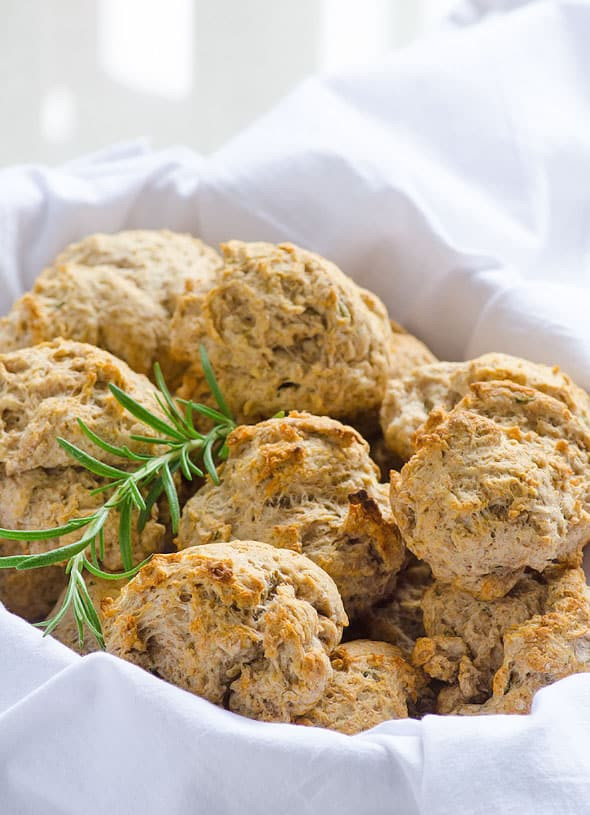 Vegan Biscuit Recipe  whole wheat vegan drop biscuits