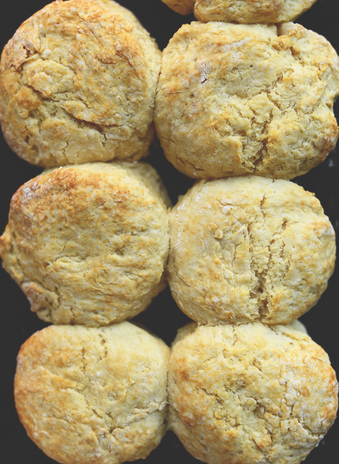 Vegan Biscuit Recipe  vegan drop biscuits from scratch