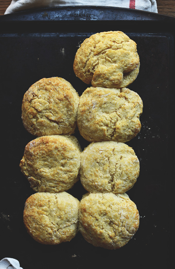 Vegan Biscuit Recipe  Best Vegan Biscuit Recipe