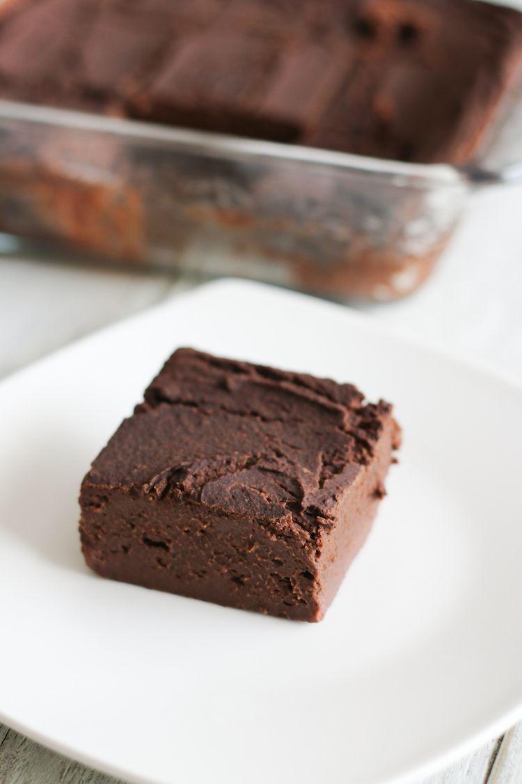 Vegan Black Bean Brownies  Vegan Black Bean Banana Brownie Recipe Live Simply Natural