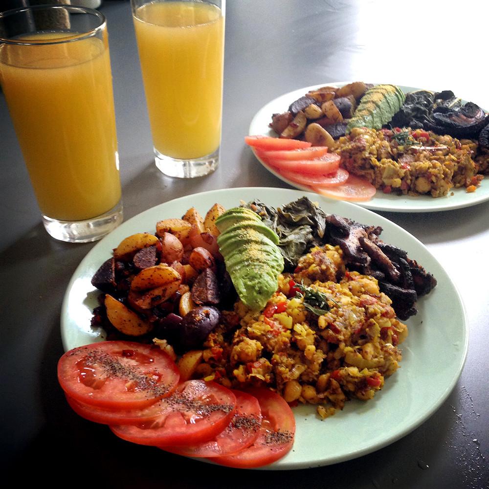 Vegan Breakfast Recipe  Vegan Breakfast Recipes Best Tofu Scramble Recipe