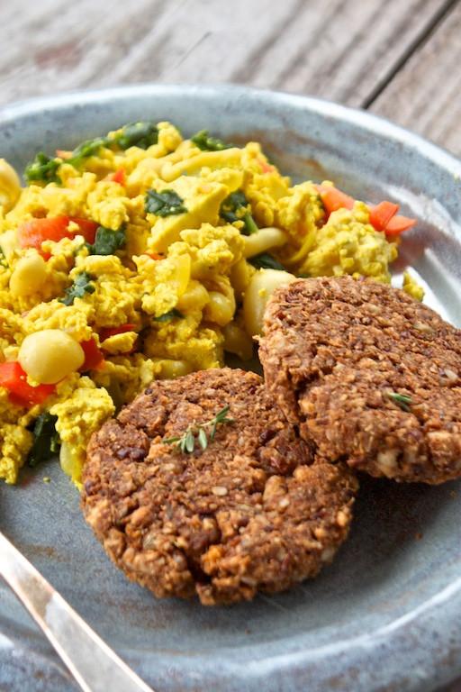 Vegan Breakfast Sausage Recipe  ve arian breakfast sausage