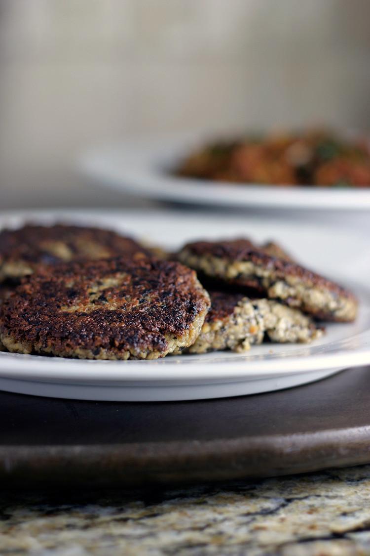 Vegan Breakfast Sausage Recipe  Vegan Mushroom Sausage