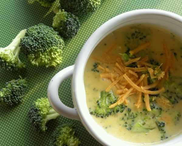 Vegan Broccoli Cheddar Soup  Vegan Broccoli Cheese Soup