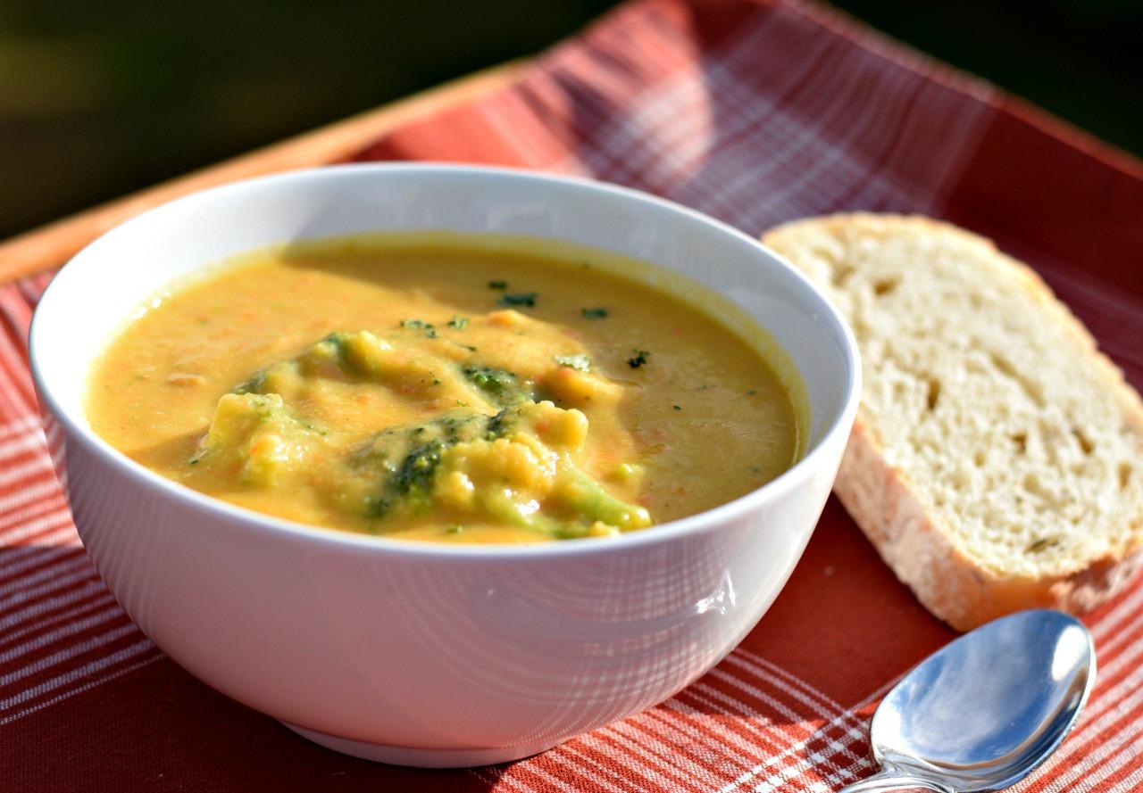 Vegan Broccoli Cheddar Soup  Vegan Broccoli Cheddar Soup Brand New Vegan