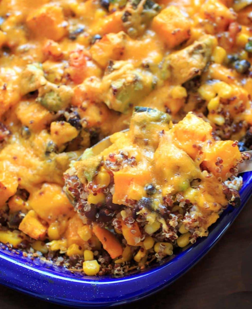 Vegan Butternut Squash Recipes  Butternut Squash Quinoa Casserole vegan friendly gluten