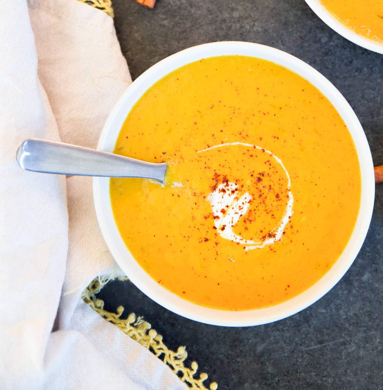 Vegan Butternut Squash Recipes  Vegan Butternut Squash Soup Recipe