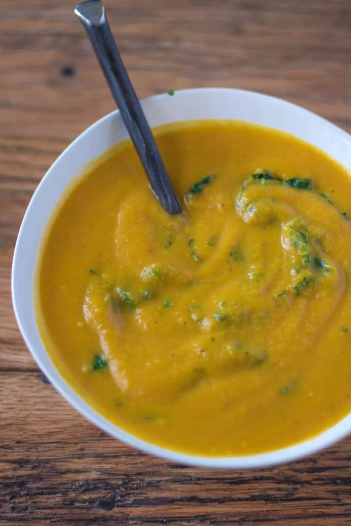 Vegan Butternut Squash Soup  Butternut Squash Soup Vegan & GF