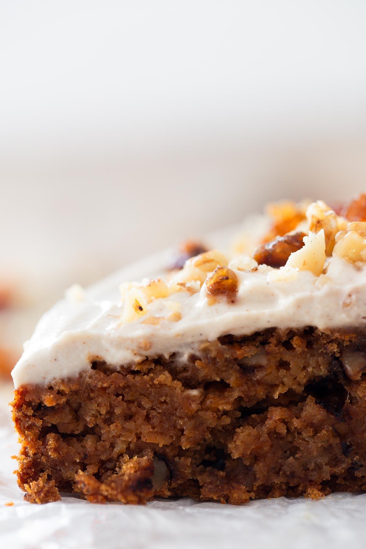 Vegan Carrot Cake Recipe  Vegan Carrot Cake Gluten Free
