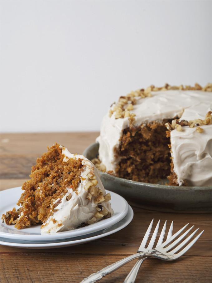 Vegan Carrot Cake Recipe  Hippie Vegan Carrot Cake with Cream Cheese Icing