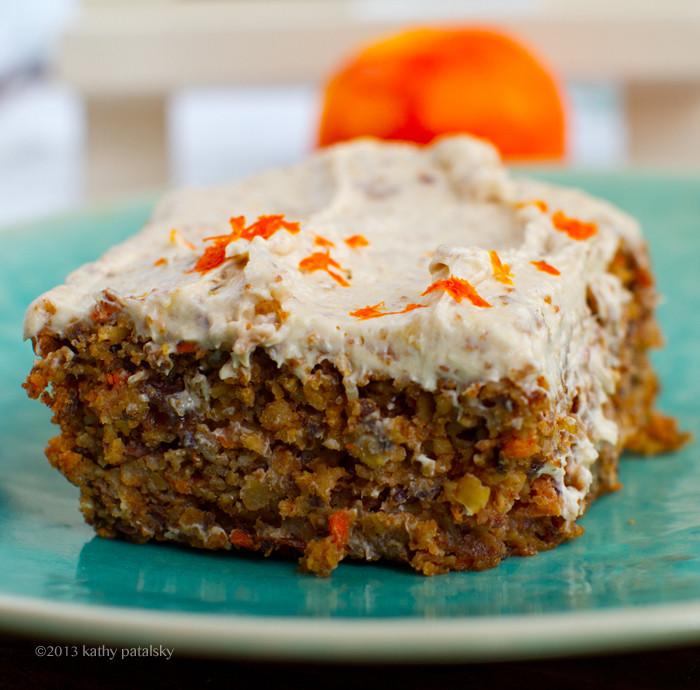 Vegan Carrot Cake Recipe  Vegan Carrot Cake with Cream Cheese Frosting Healthy Dessert