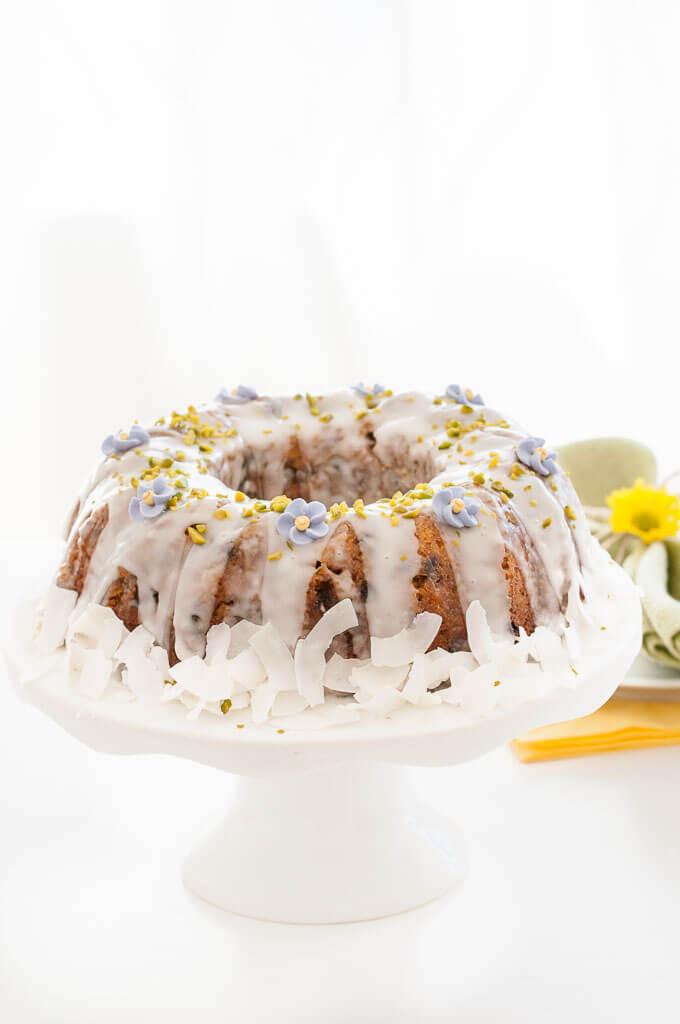 Vegan Carrot Cake Recipe  Gluten free & Vegan Carrot Cake w Icing Vegan Family