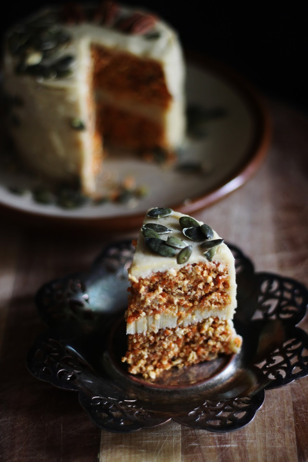 Vegan Carrot Cake Recipe  This Rawsome Vegan Life RAW VEGAN CARROT CAKE with CREAMY