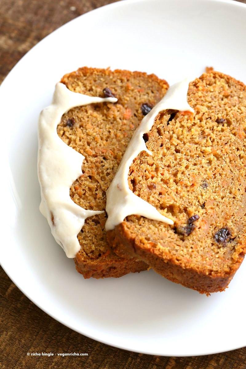 Vegan Carrot Cake Recipe  Vegan Carrot Cake Recipe with Cashew Cream Frosting