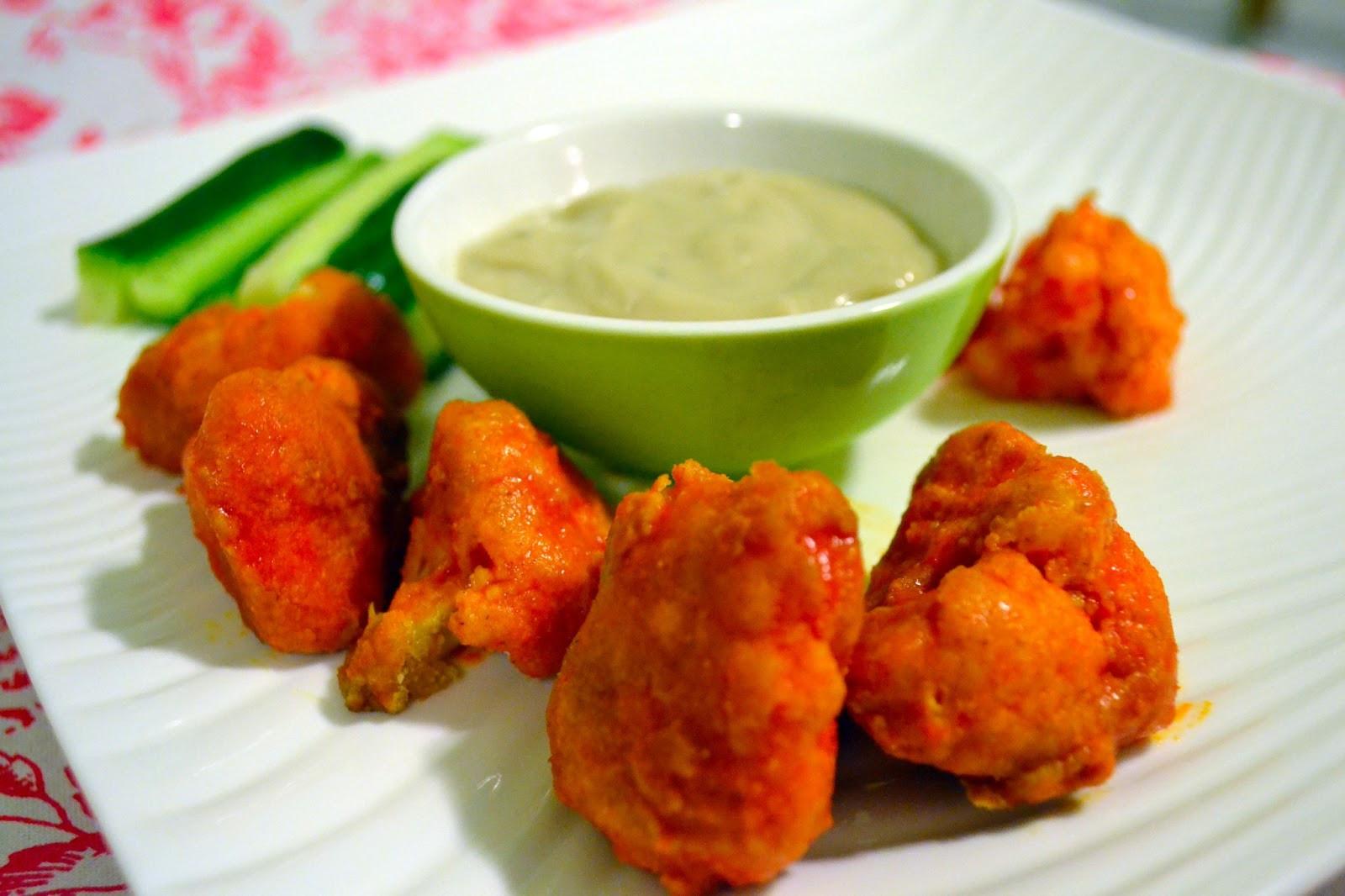Vegan Cauliflower Wings  Meatless Monday Vegan Buffalo Wings