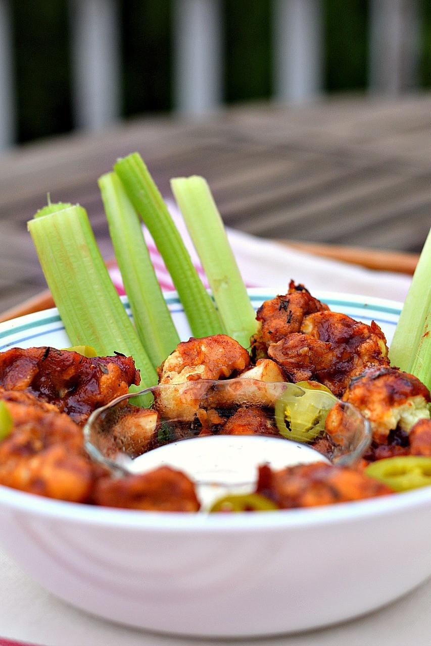 Vegan Cauliflower Wings  BBQ Cauliflower Wings Brand New Vegan