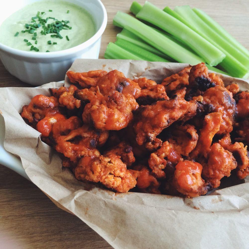 Vegan Cauliflower Wings  Best 25 Vegan cauliflower wings ideas on Pinterest