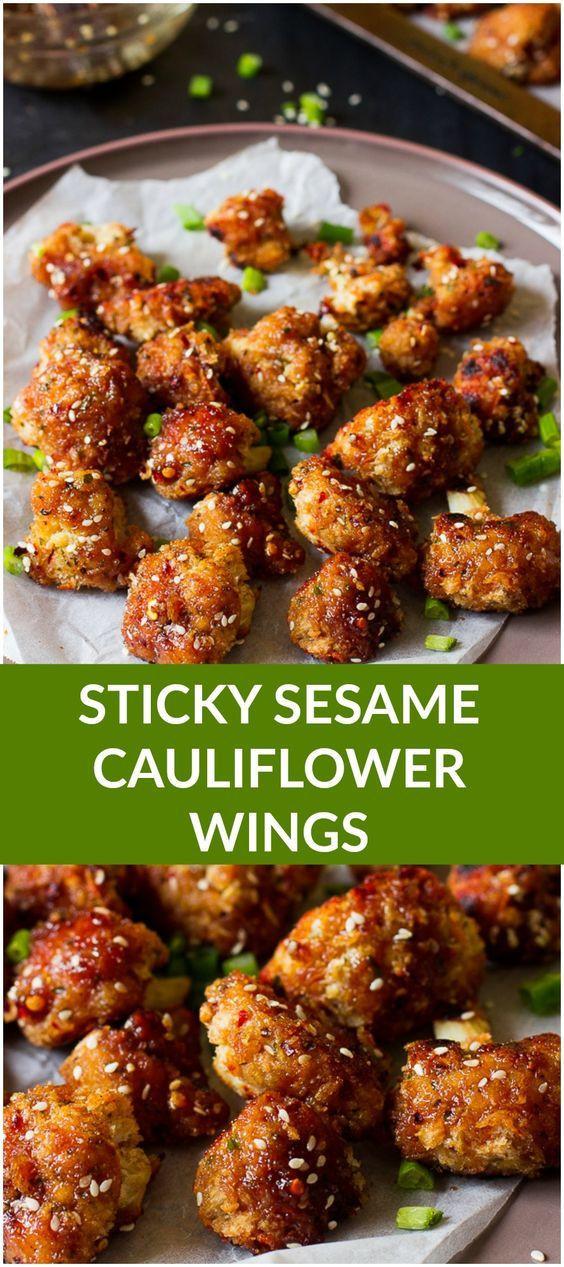 Vegan Cauliflower Wings  25 best ideas about Cauliflower Wings on Pinterest