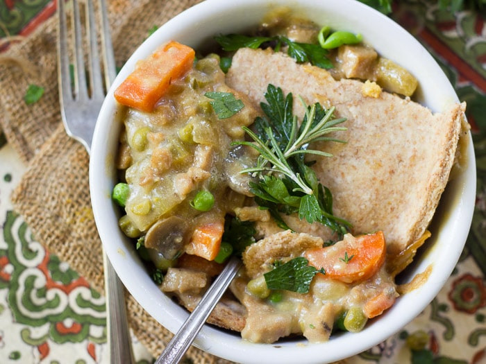 Vegan Chicken Pot Pie  Vegan Chicken Pot Pie Connoisseurus Veg