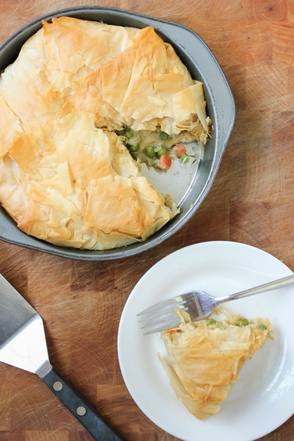 Vegan Chicken Pot Pie  vegan chicken pot pie