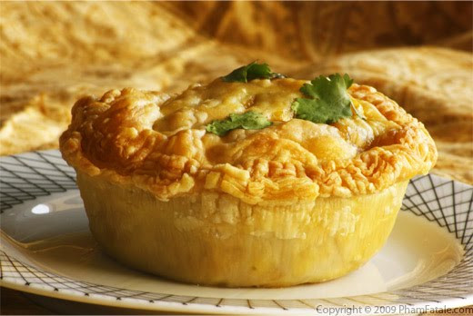 Vegan Chicken Pot Pie  Vegan Miss Adventures in the Kitchen Meatless Monday