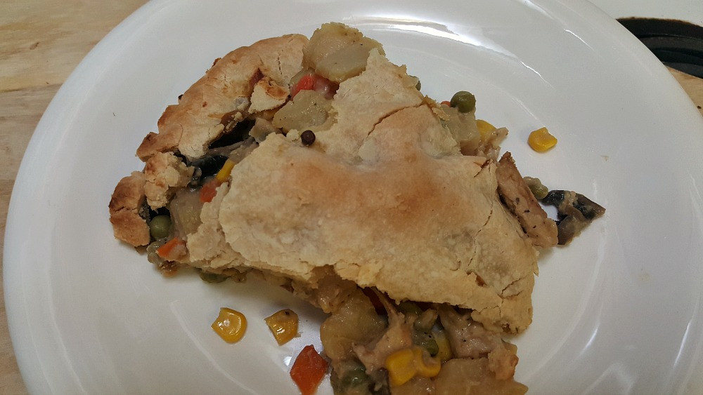 Vegan Chicken Pot Pie  Vegan Chicken Pot Pie 5 Coach Debbie Runs