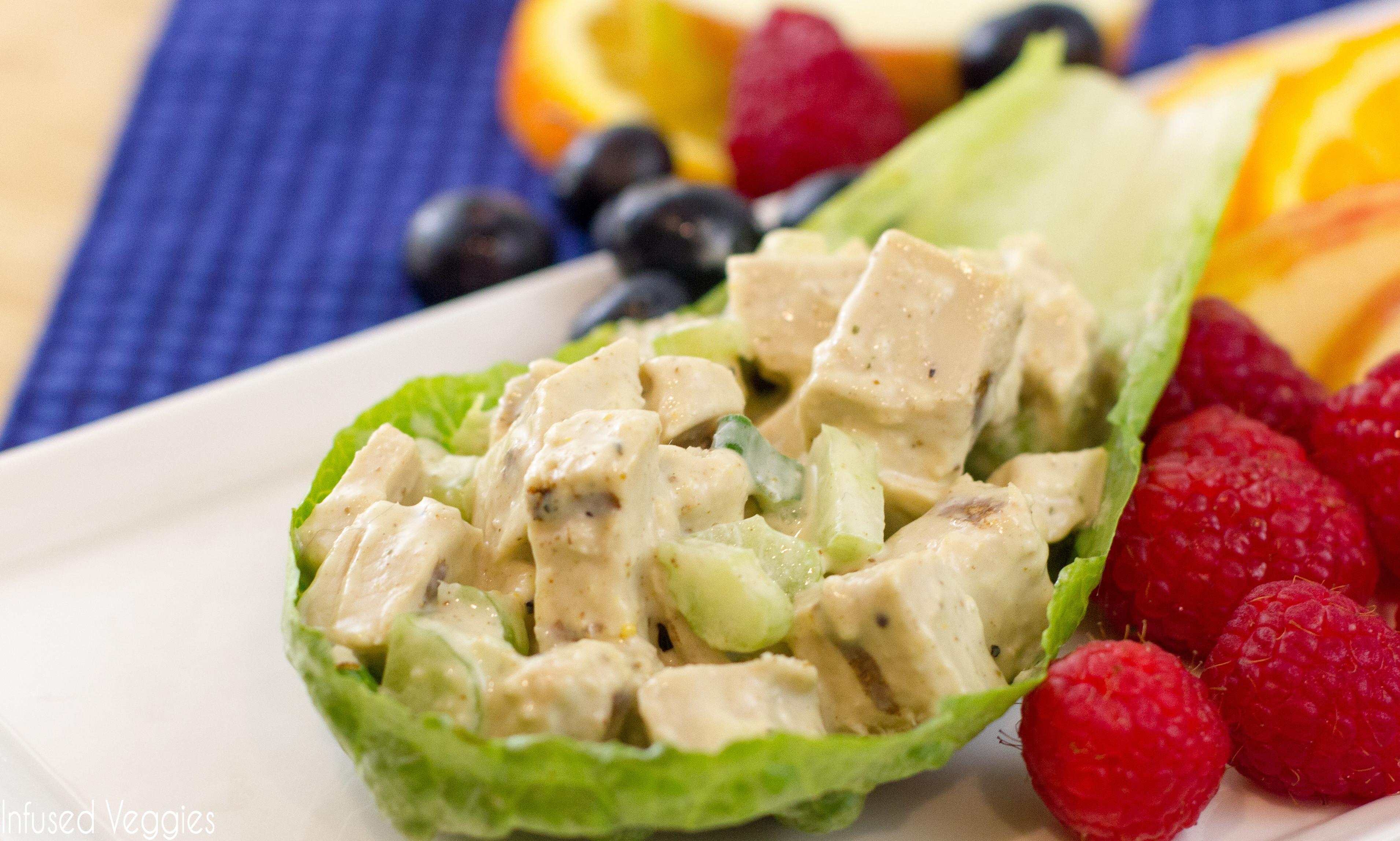 Vegan Chicken Salad  Easy Vegan Chicken Salad Vegan Gluten Free Life