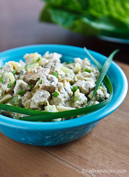 Vegan Chicken Salad  Old Fashioned Tofu Chicken Salad